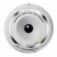 Объектив Olympus BCL-0980 Fish-Eye Body Cap Lens 9mm 1:8.0 White (V325040WW000)