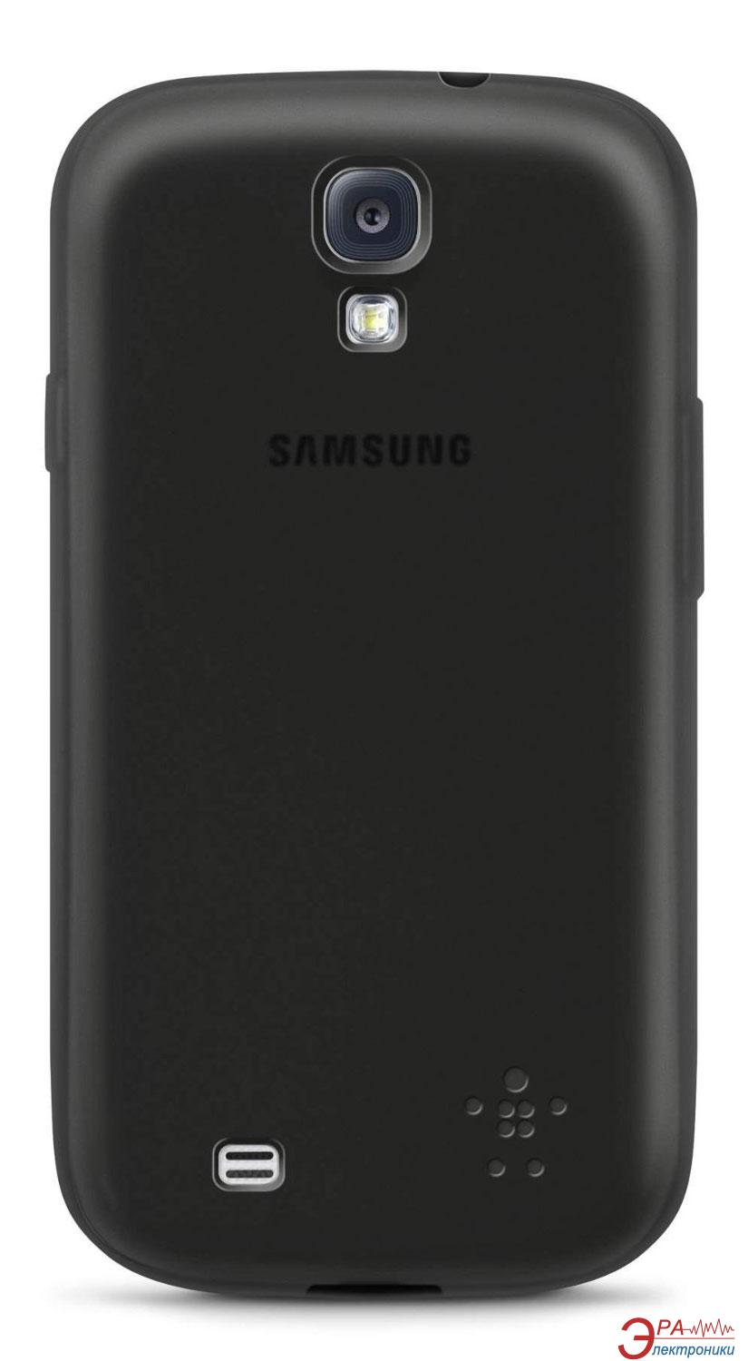 Чехол Belkin Grip Sheer Matte Black for Galaxy S4 (F8M551btC00)