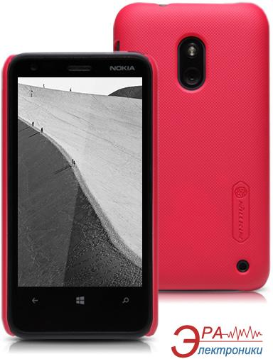Чехол Nillkin Lumia 620 - Super Frosted Shield (Red) (6065770)