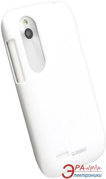 Чехол Krusell ColorCover для HTC Desire V/X White Metallic (89791)