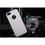Чехол Nillkin iPhone 5 - Super Frosted Shield (White) (6065700)