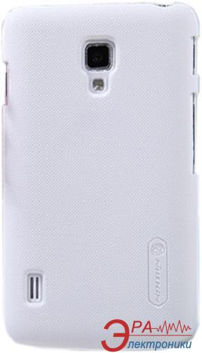 Чехол Nillkin LG L7II Duos - Super Frosted Shield (White)