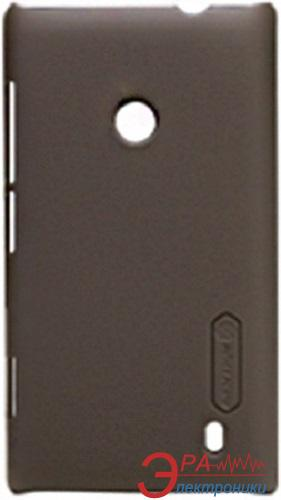 Чехол Nillkin Nokia Lumia 520 - Super Frosted Shield (Brown) (6065765)