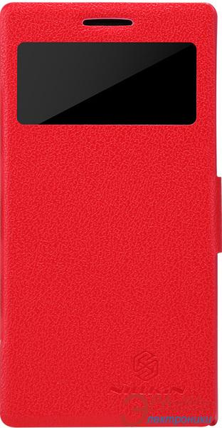 Чехол Nillkin Huawei Ascend P6 - Fresh Series Leather Case (Red) (6065687)