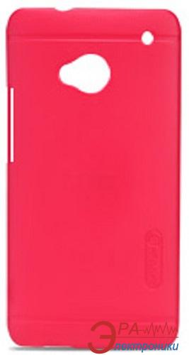 Чехол Nillkin HTC ONE (M7) - Super Frosted Shield (Red) (6065713)