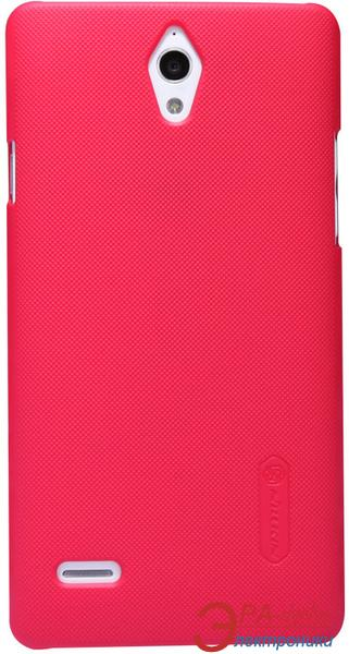 Чехол Nillkin Huawei G700 - Super Frosted Shield (Red) (6076996)