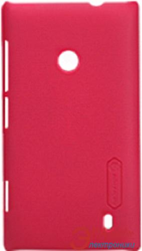 Чехол Nillkin Nokia Lumia 520 - Super Frosted Shield (Red) (6065766)