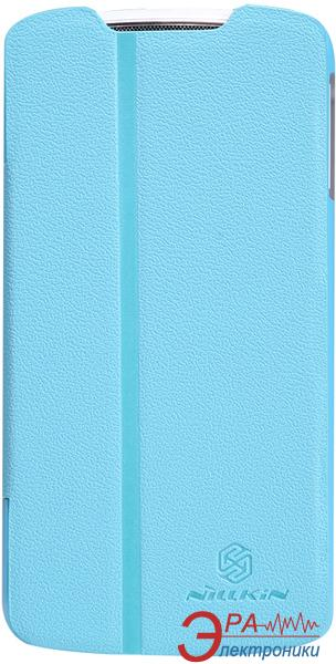 Чехол Nillkin Lenovo S920 - Fresh Series Leather Case (Blue) (6076870)