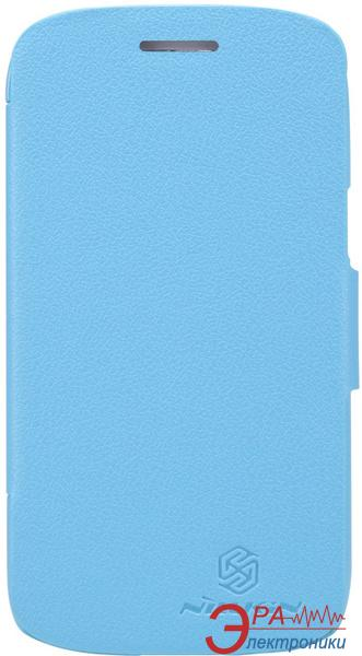 Чехол Nillkin Samsung I8262 - Fresh Series Leather Case (Blue) (6076964)