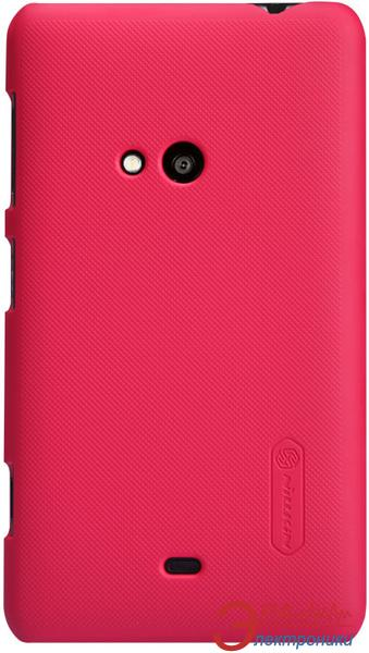 Чехол Nillkin Nokia Lumia 625 - Super Frosted Shield (Red) (6077020)