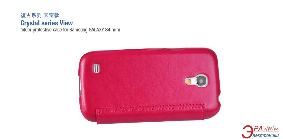 Чехол Hoco Samsung Galaxy S4 mini - Crystal series (HS-L045 Rose Red)