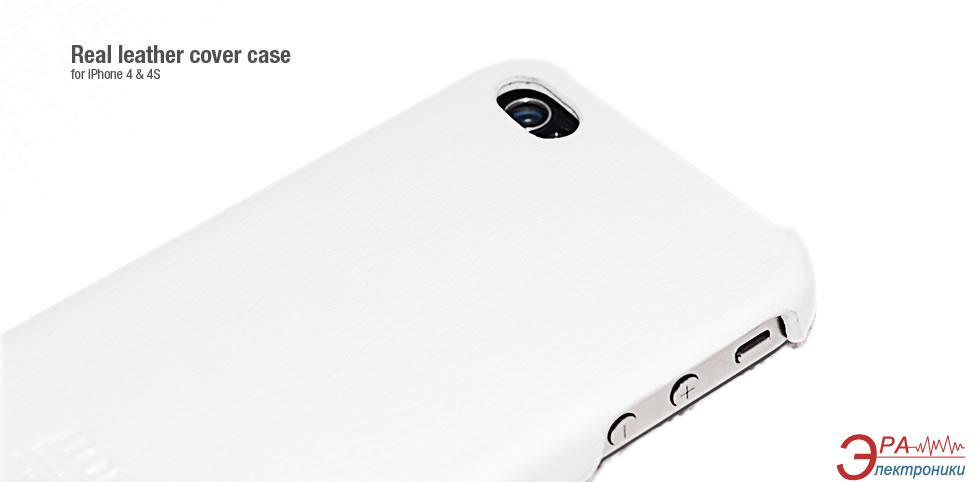 Чехол Hoco iPhone 4/4S - Duke Back Cover (HI-BL001 White)