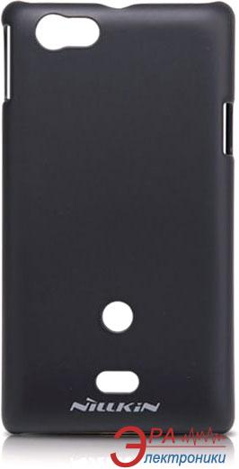 Чехол Nillkin Sony Xperia Miro - Super Frosted Shield (Black) (6088774)