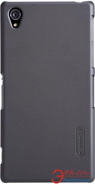 Чехол Nillkin Sony Xperia Z1 - Super Frosted Shield (Black) (6088776)
