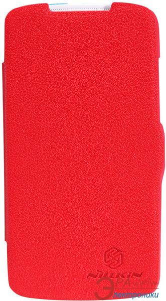 Чехол Nillkin HTC Desire 500 - Fresh Series Leather Case (Red) (6088695)