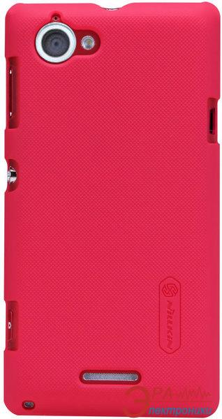 Чехол Nillkin Sony Xperia L - Super Frosted Shield (Red) (6088769)
