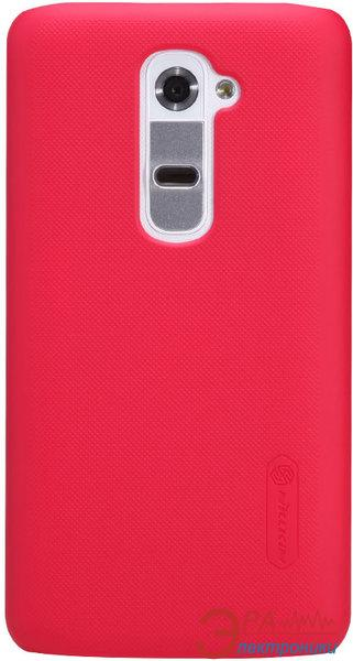 Чехол Nillkin LG Optimus GII D802 - Super Frosted Shield (Red) (6089168)