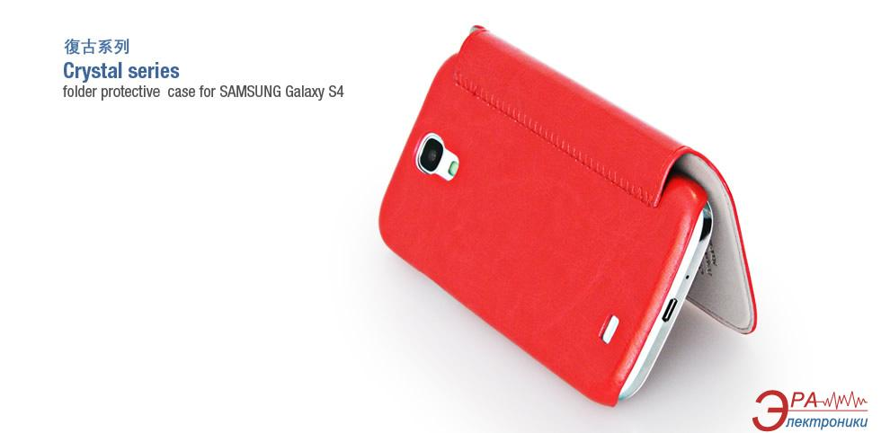Чехол Hoco Samsung Galaxy S4 - Crystal series (HS-L022 Red)