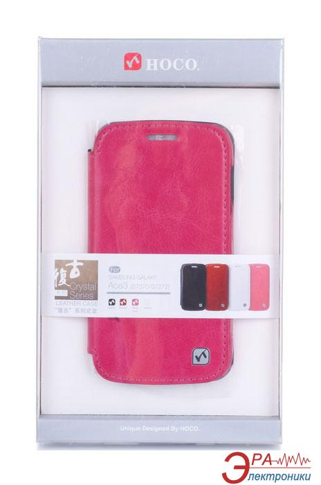 Чехол Hoco Samsung Galaxy Ace 3 Duos-Crystal s (HS-L064 Rose Red)