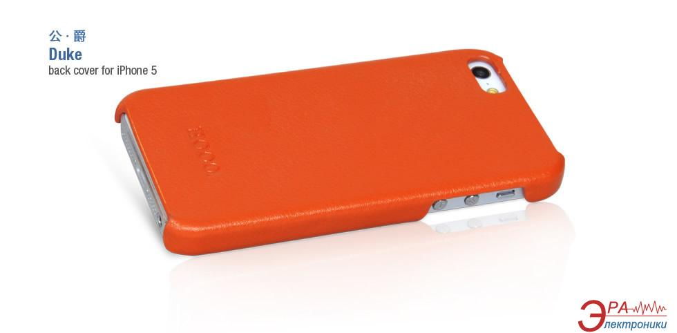Чехол Hoco iPhone 5 - Duke back cover (HI-BL006 Orange )