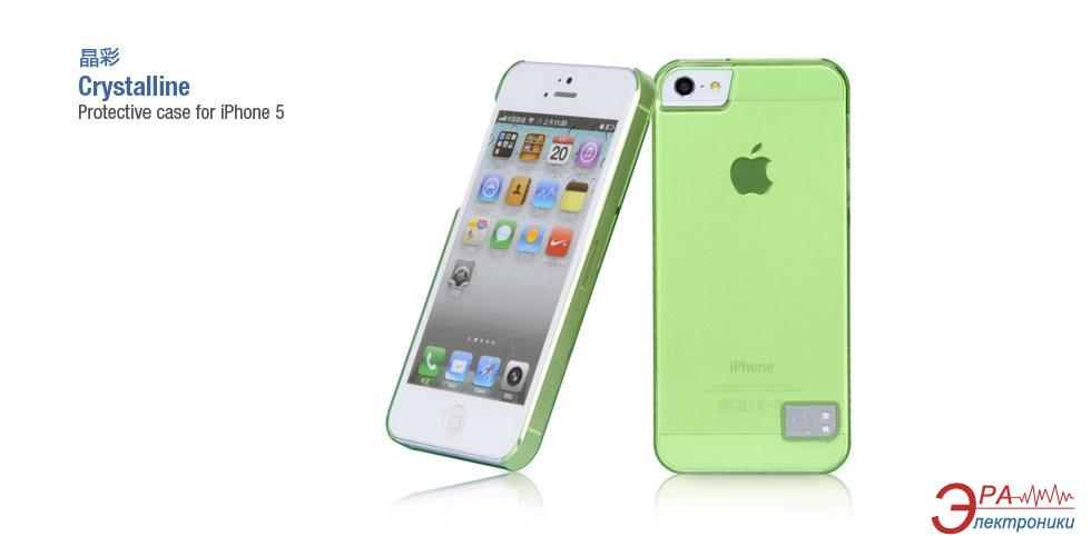 Чехол Hoco iPhone 5 Cristal Back case Green (HI-P009GR)