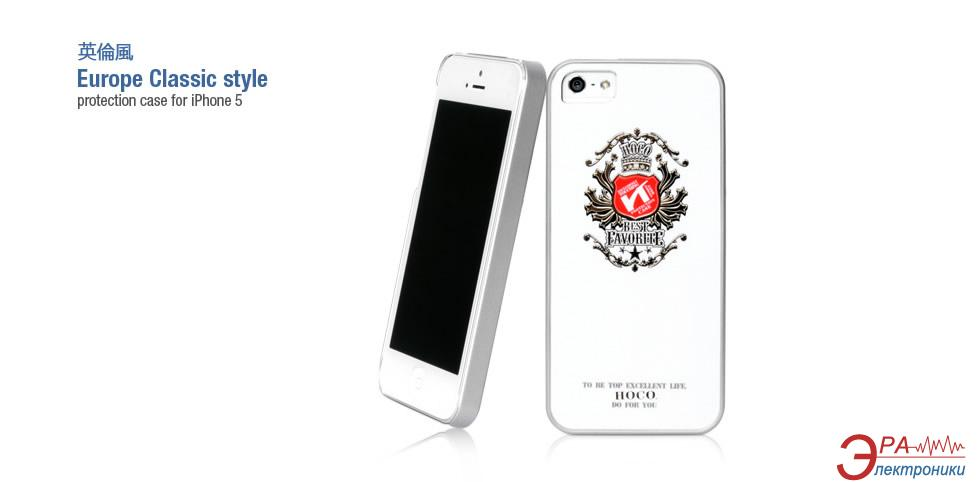 Чехол Hoco iPhone 5 British style Back case (Crown) (HI-P010CR)