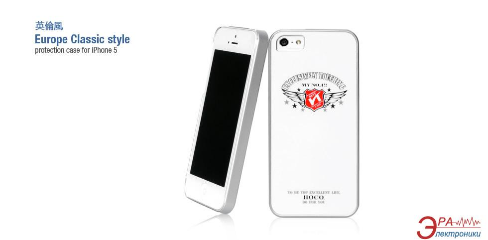 Чехол Hoco iPhone 5 British style Back case (Silvery Diamond) (HI-P010SD)
