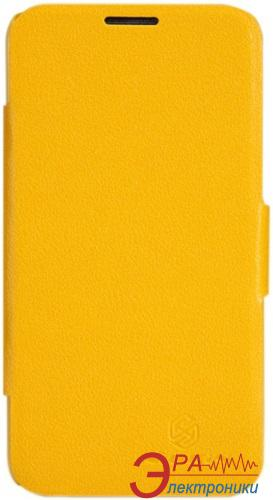 Чехол Nillkin Lenovo A820 - Fresh Series Leather Case (Yellow)