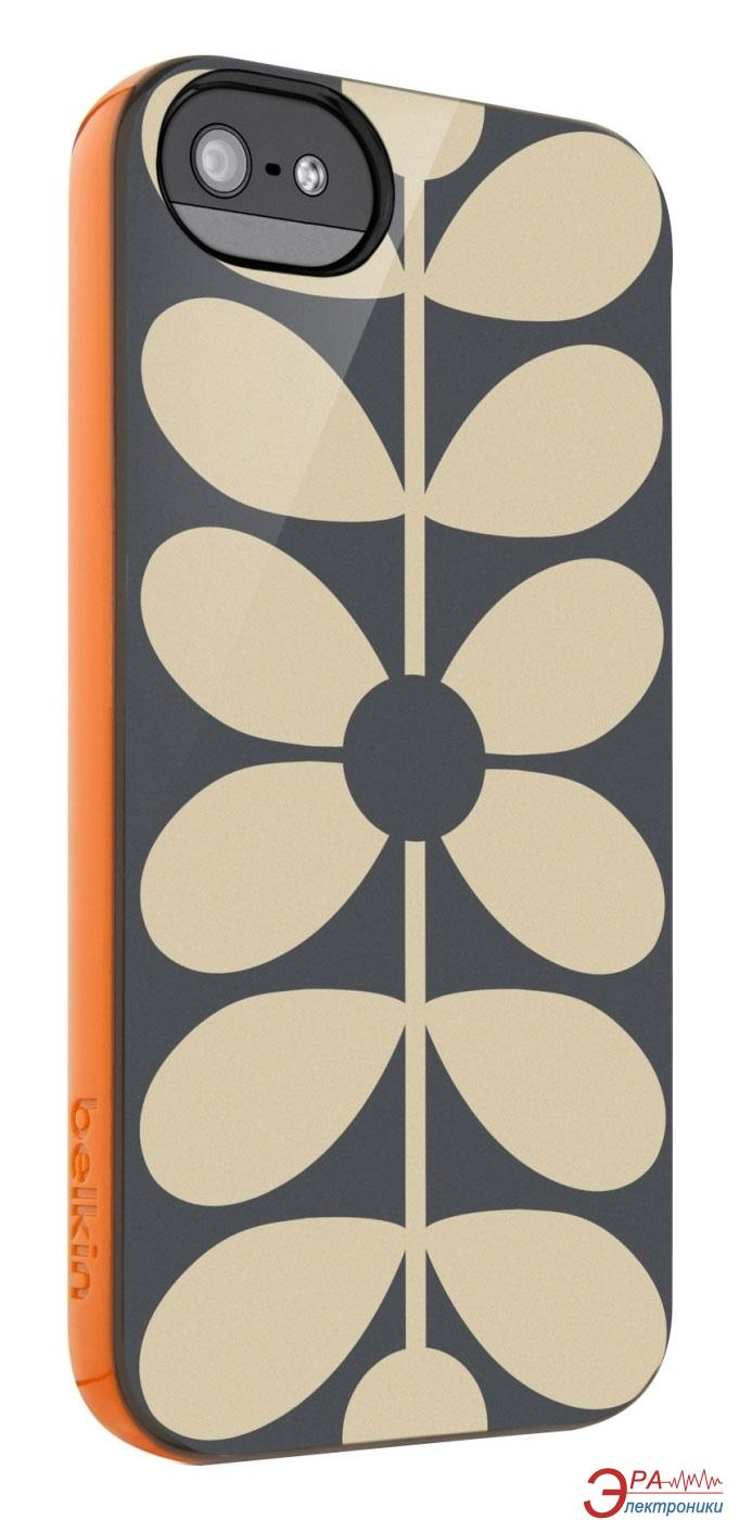 Чехол Belkin Orla Kiely iPhone 5/5s Optic Stem (F8W340btC00)