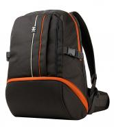 Рюкзак Crumpler Jackpack Half Photo Backpack (grey black/orange) (JPHBP-005)