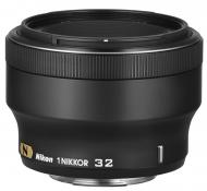�������� Nikon 1 NIKKOR 32mm f/1.2 Black (JVA301DA)