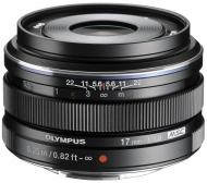 Объектив Olympus EW-M1718 17mm 1:1.8 Black (V311050BE000)