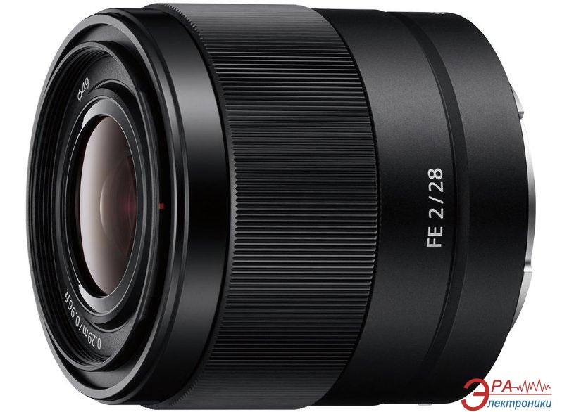 Объектив Sony 28mm f/2.0 for NEX FF (SEL28F20.SYX)