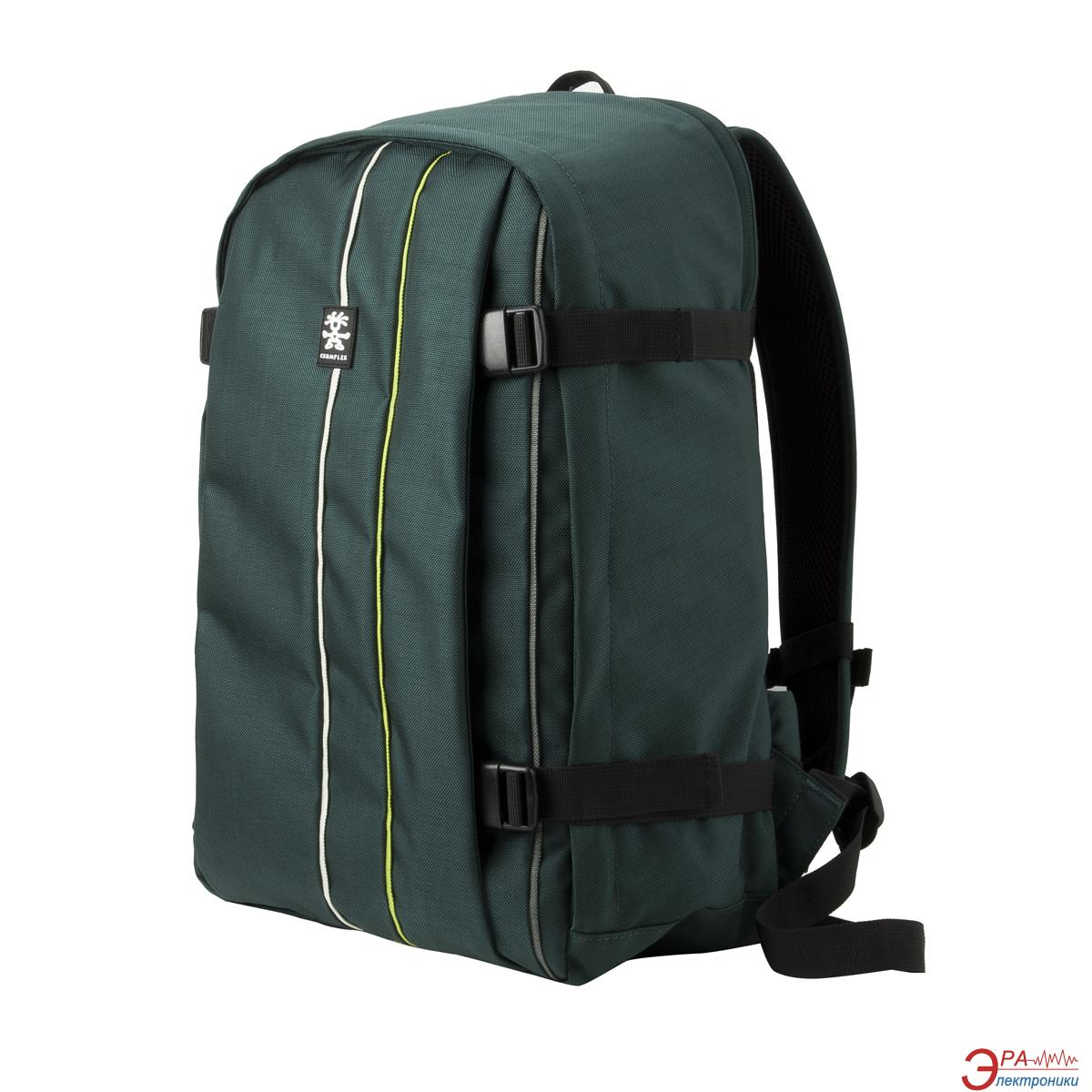 Рюкзак для ноутбука Crumpler Jackpack Full Photo Backpack (petrol/ green yellow) (JPFBP-003)