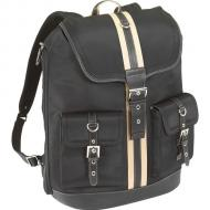 Рюкзак для ноутбука Targus Getta Notebook Backpack Black and Tan Strip (TLB004EU)