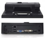 Док-станция для ноутбука Dell Port Replicator EURO1 Simple E-Port with 130W AC Adaptor without stand (Kit) (452-10768)