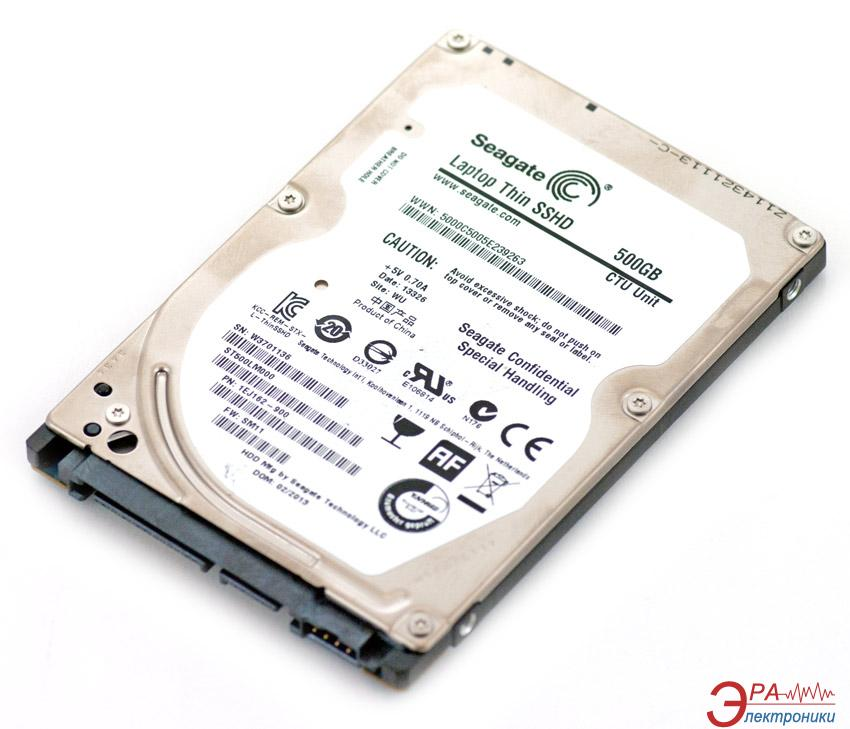 Жесткий диск 500GB Seagate Laptop Thin SSHD (ST500LM000)