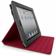 Чехол-подставка Belkin iPad 2 Folio with Stand black/red (F8N613cwC01)