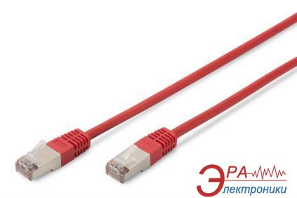 Патч-корд Digitus cat.5e SF-UTP 2m AWG 26/7 Red (DK-1531-020/R)