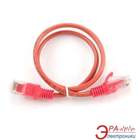 Патч-корд Cablexpert UTP cat.5e 0.25 m Red (PP12-0.25M/R)