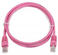 Патч-корд Cablexpert UTP cat.5e 0.5 m Pink (PP12-0.5M/RO)