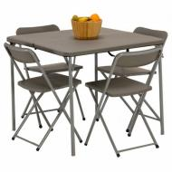 Стол Vango Orchard Table And Chair Set Grey (925681)