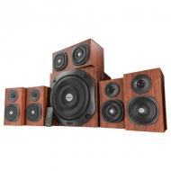 Акустическая система TRUST Vigor 5.1 Surround Speaker System (21786) Wood