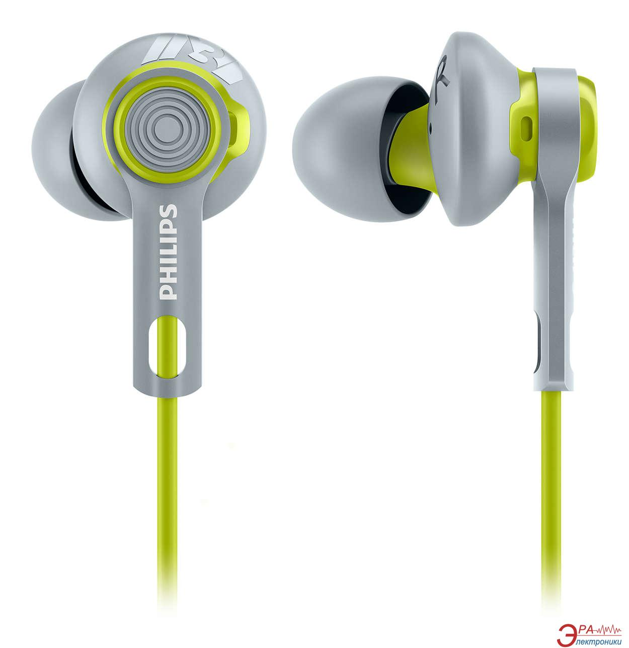 Наушники Philips SHQ2300LF/00 Green/Grey