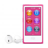 MP3 плеер Apple A1446 iPod nano 16 Gb Pink (MKMV2QB/A)