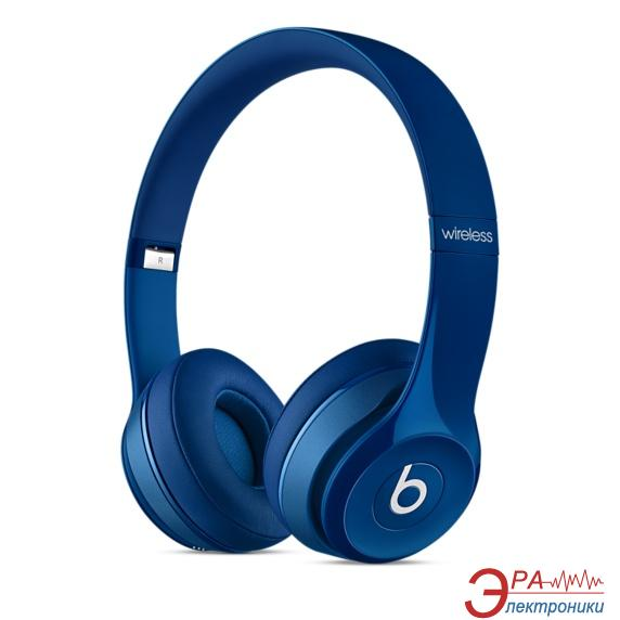 Гарнитура Beats Solo2 Wireless Headphones Blue (MHNM2ZM/A)