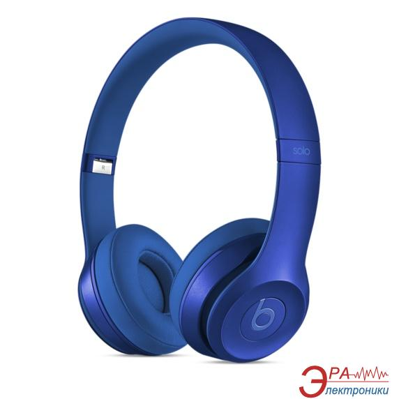 Гарнитура Beats Solo2 On-Ear Headphones Royal Collection Sapphire Blue (MJW32ZM/A)