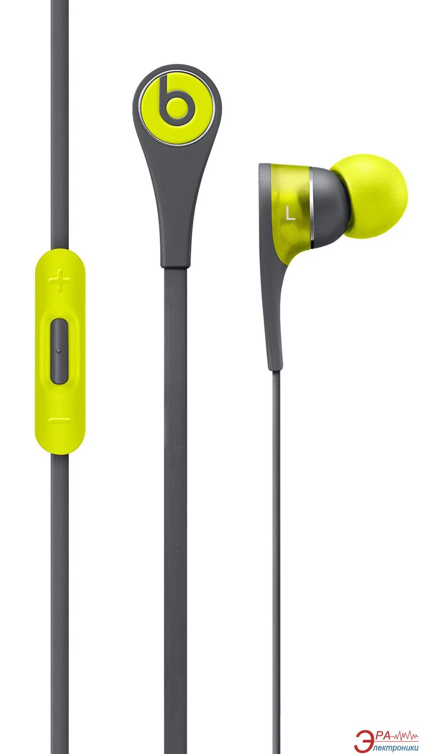 Гарнитура Beats Tour2 In-Ear Headphones (Active Collection - Shock Yellow) (MKPW2ZM/A)