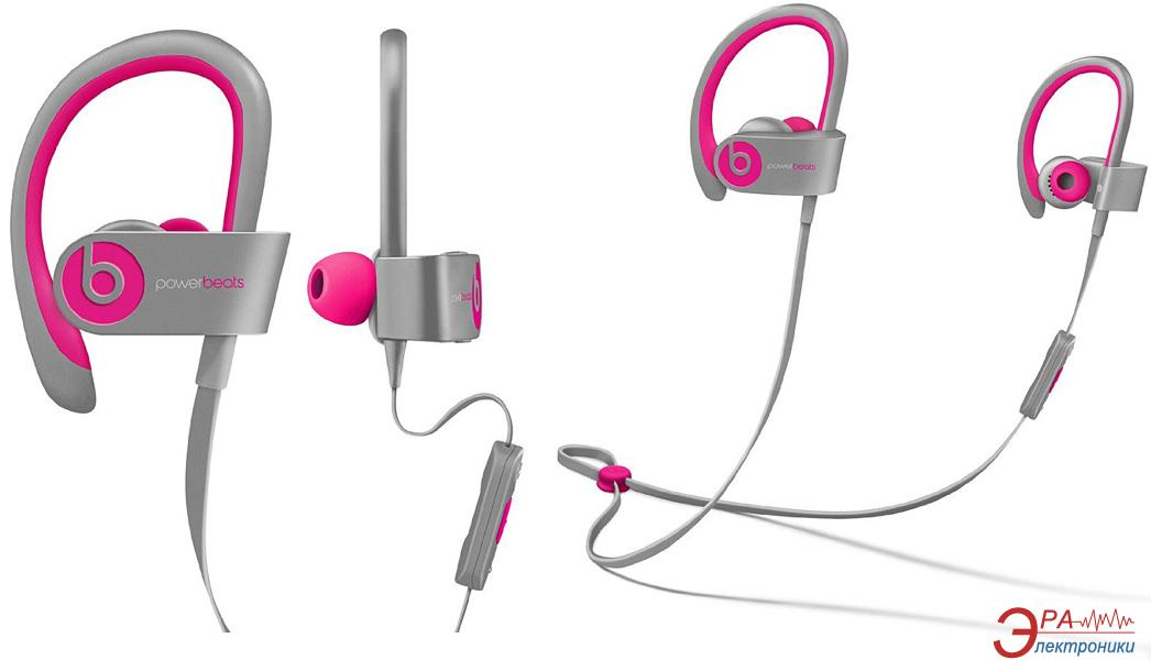 Гарнитура Beats Powerbeats 2 Wireless Pink/Grey (MHBK2ZM/A)
