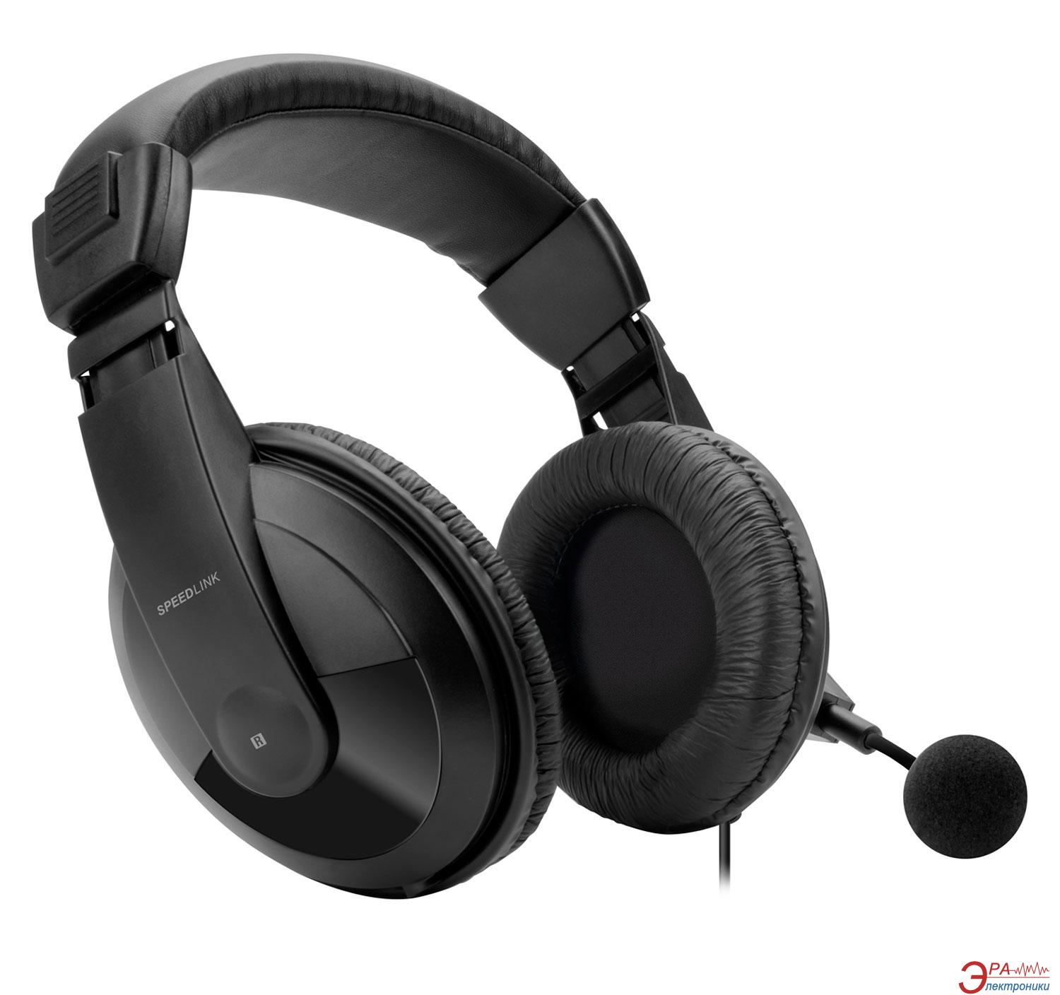 Гарнитура Speed Link Tenuri Stereo Headset PS4 Black (SL-4531-BK)